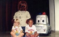 McGruff and kids